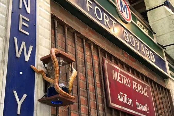Fort Boyard 2021 - La façade de la nouvelle épreuve
