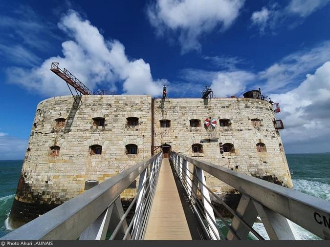 Fort Boyard 2021 - Photo artistique du fort (11/05/2021)