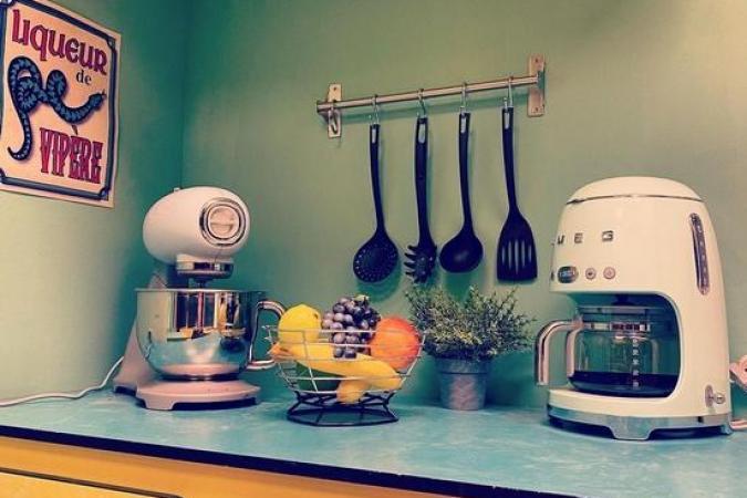 Fort Boyard 2021 - Nouveau décor d'une cuisine vintage(15/05/2021)