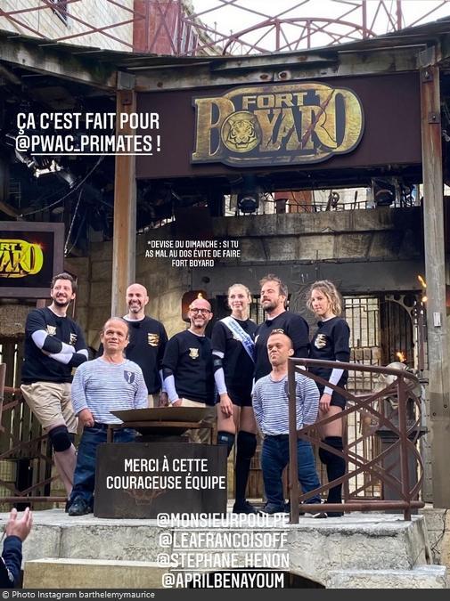 Fort Boyard 2021 - Equipe tournage C (15/05/2021)