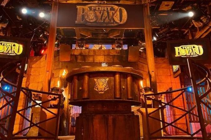 Fort Boyard 2021 - Le proscenium lors de l'after (16/05/2021)