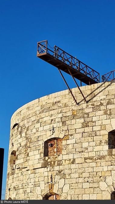 Fort Boyard 2021 - La passerelle du Saut de l'ange (18/05/2021)