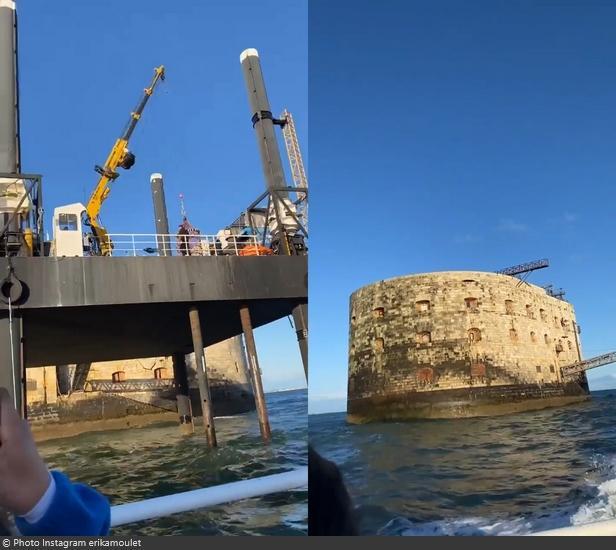 Fort Boyard 2021 - Départ du fort en fin de journée (18/05/2021)