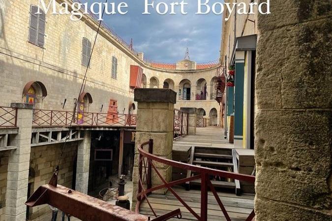 Fort Boyard 2021 - Une nouvelle journée de tournage se prépare (20/05/2021)