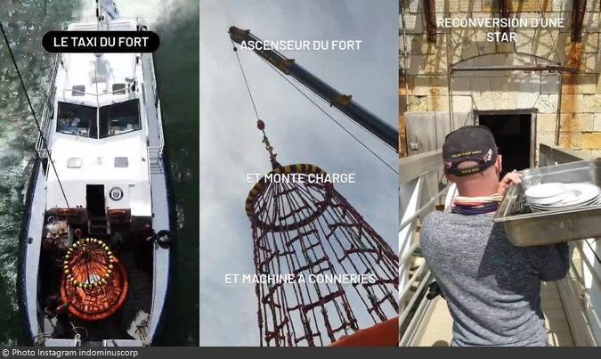 Fort Boyard 2021 - Vincent Lagaf et son fils sont sur le fort (20/05/2021)