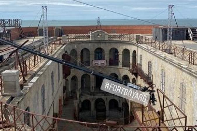 Fort Boyard 2021 - Tournage sur la terrasse (20/05/2021)