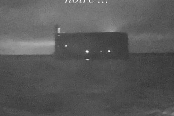 Fort Boyard 2021 - Départ du fort en nocturne (20/05/2021)