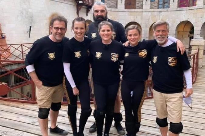 Fort Boyard 2021 - Equipe tournage E (20/05/2021)