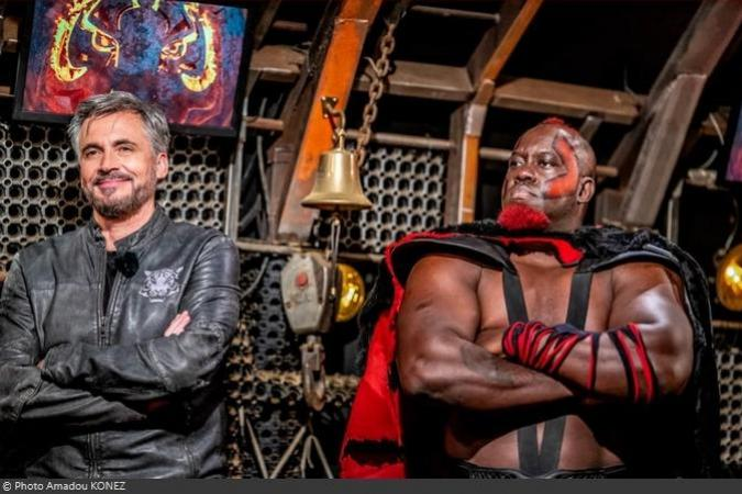 Fort Boyard 2021 - Olivier MINNE et Big Boo dans la Cage (23/05/2021)