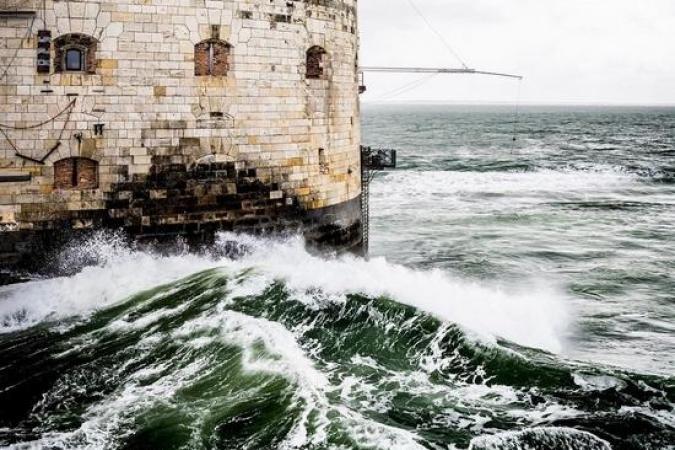 Fort Boyard 2021 - Tournage du jour annulé, accès au fort trop difficile (24/05/2021)