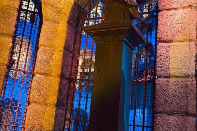 Fort Boyard 2021 - Le proscenium de nuit (25/05/2021)