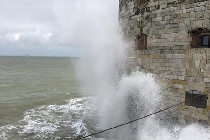 Fort Boyard 2021 - Les conditions météos sont parfois difficile au mois de mai (25/05/2021)