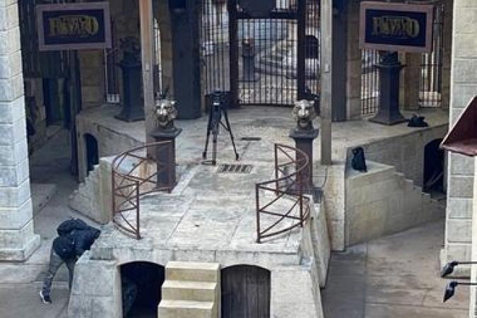 Fort Boyard 2021 - Le tournage du jour va commencer (25/05/2021)