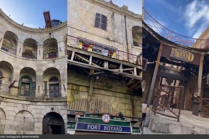 Fort Boyard 2021 - La cour intérieure depuis le rez-de-chaussée (25/05/2021)