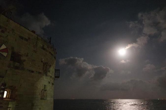 Fort Boyard 2021 - Le Lune éclaire le fort (25/05/2021)