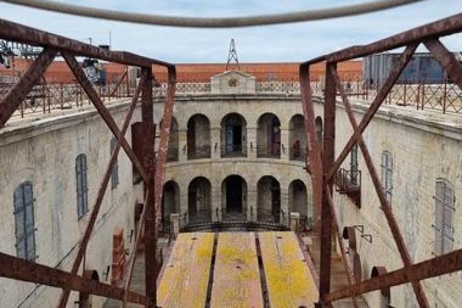 Fort Boyard 2021 - Le sautoir de la cour intérieure(26/05/2021)
