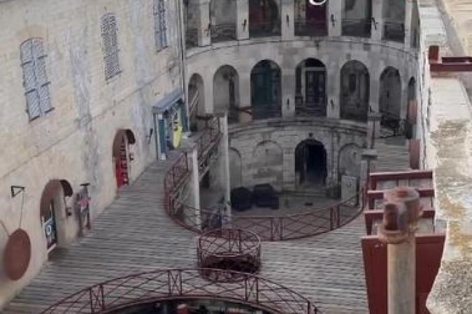 Fort Boyard 2021 - La cour intérieure (29/05/2021)