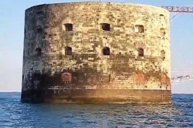 Fort Boyard 2021 - Fin de tournage pour Laura Mété (29/05/2021)