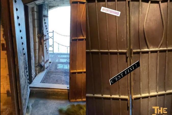 Fort Boyard 2021 - Fin de tournage pour Willy Rovelli (29/05/2021)