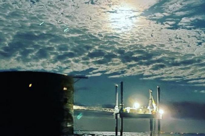 Fort Boyard 2021 - Départ nocturne du fort (29/05/2021)