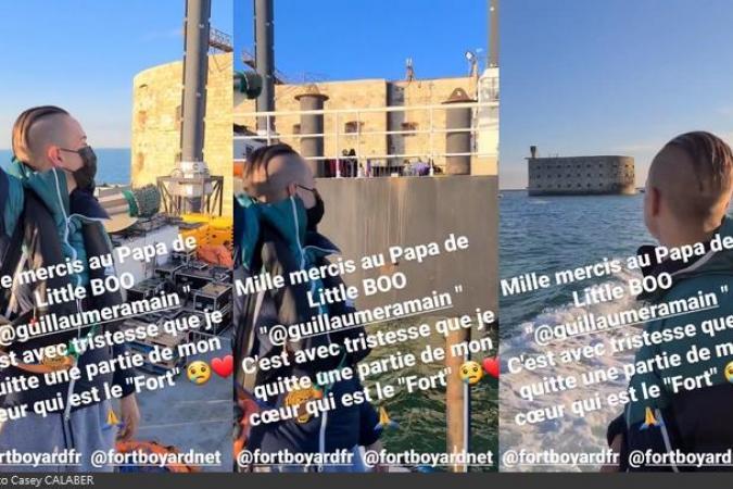 Fort Boyard 2021 - Casey CALABER quitte le fort à son tour (29/05/2021)