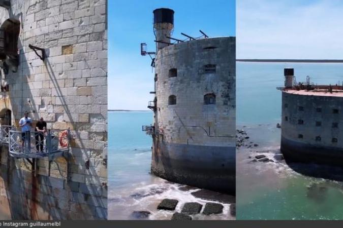 Fort Boyard 2021 - Tournage des images aériennes (31/05/2021)
