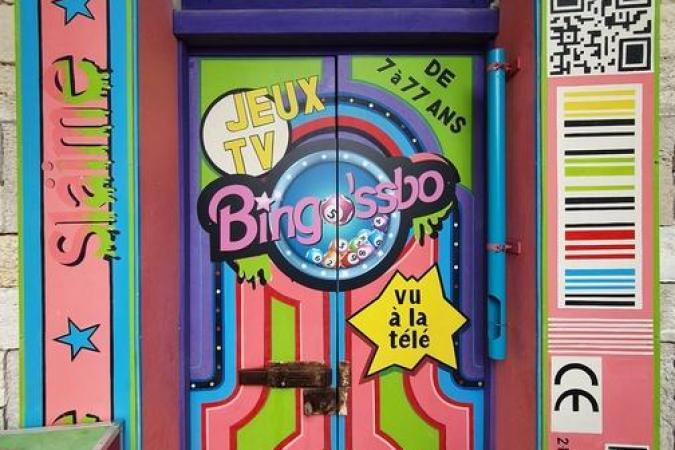 Fort Boyard 2021 - La porte du Bingo'ssbo (après les tournages)