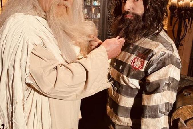 Fort Boyard 2021 - Père Fouras et Chef Willy (après les tournages)