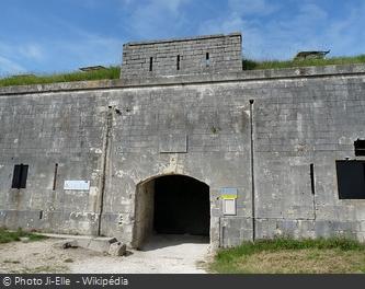 L'entrée du Fort Liédot