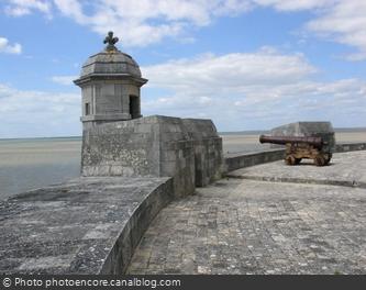 La terrasse du Fort Louvois
