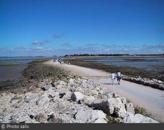 La Passe aux Boeufs lors de la marée basse