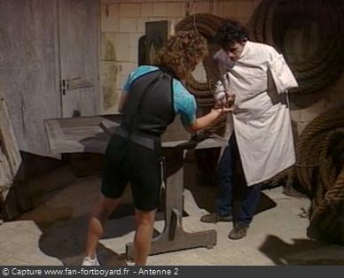 Fort Boyard - Araignées (version 1, émission 7 de 1991)