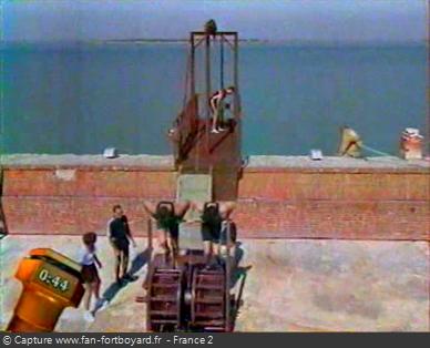 Fort Boyard - Ascenseur (machine à remonter l'ascenseur)