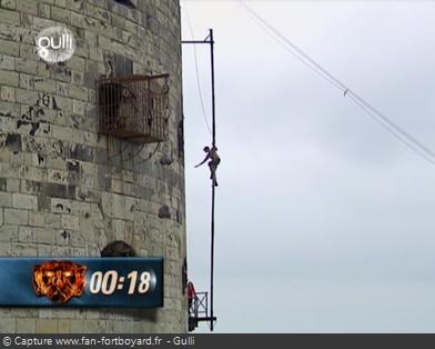 Fort Boyard - Ascension du poteau