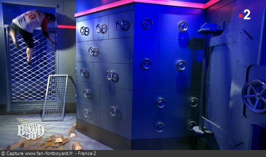 Fort Boyard - Banque / Passage salle du grand coffre (depuis 2019)