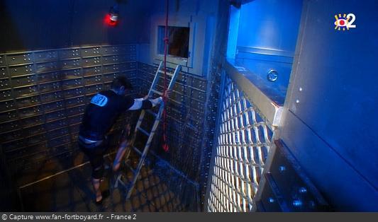 Fort Boyard - Banque / Passage salle des petits coffres (depuis 2020)