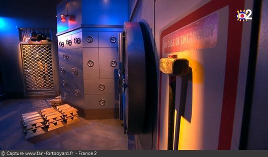 Fort Boyard - Banque / Salle du grand coffre (depuis 2020)