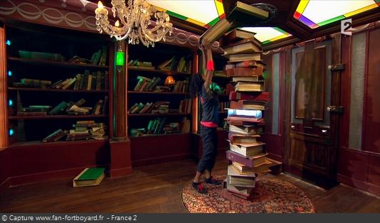 Fort Boyard - Bibliothèque