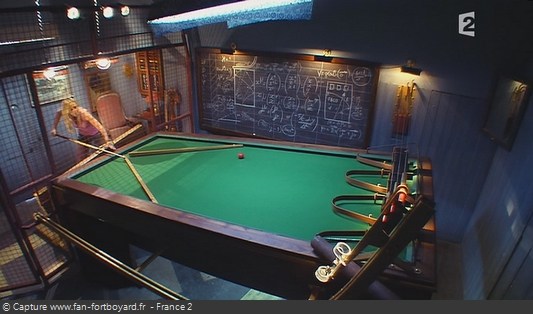 Fort Boyard - Billard