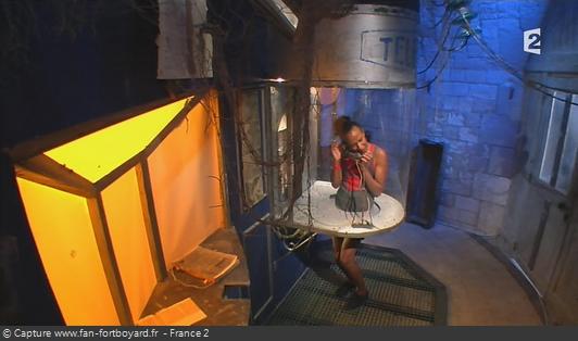Fort Boyard - Cabine abandonnée (cellule 216 - 2012)