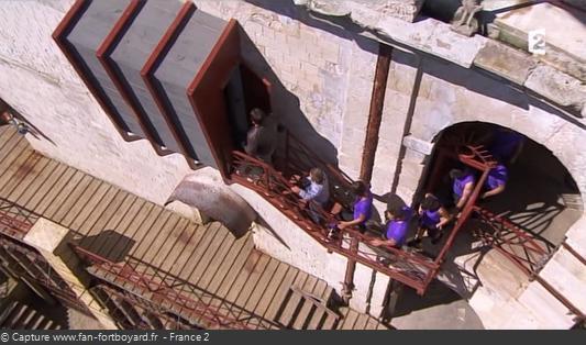 Fort Boyard - L'entrée de la Cage