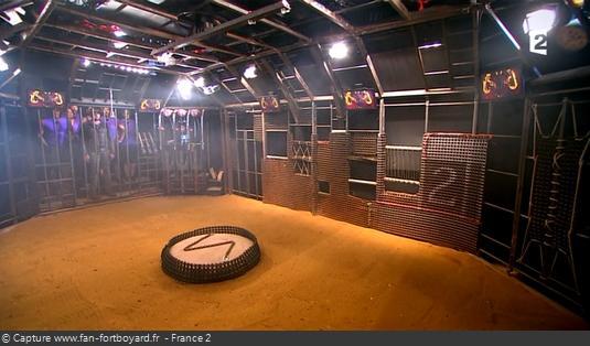 Fort Boyard - La Cage en 2015