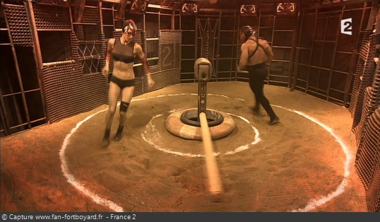 Fort Boyard - Cage - Course-poursuite