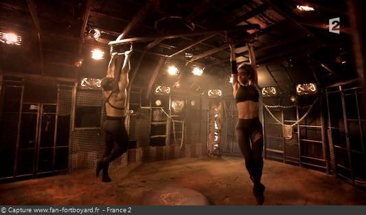 Fort Boyard - Cage - Double-trapèze