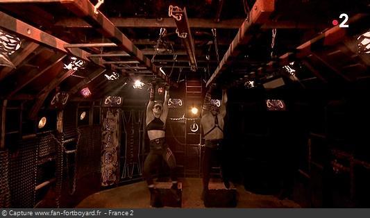 Fort Boyard - Cage - Échelles