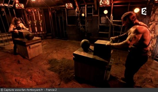 Fort Boyard - Cage - Explosion