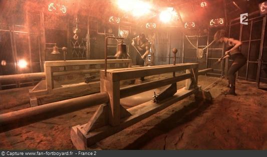 Fort Boyard - Cage - Masses