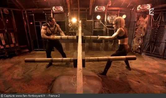 Fort Boyard - Cage - Piliers