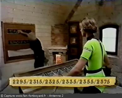 Fort Boyard - Calcul à la suite (cellule 223 - 1992-1993)