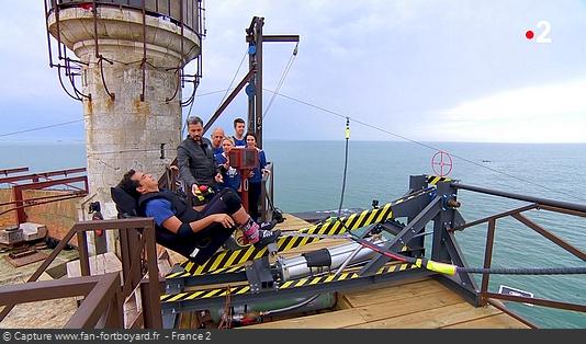 Fort Boyard 2018 - Catapulte infernale
